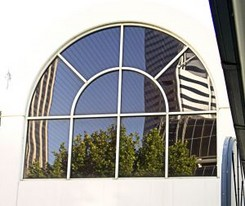Cleaning An Arch Square Or Round Window Clean My Windows