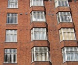 red brick strata building